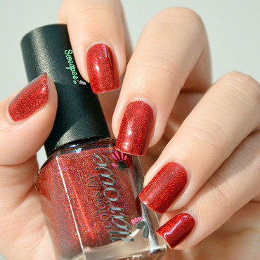 Colors By Llarowe The Mighty Red Baron Swatch by Sweapee