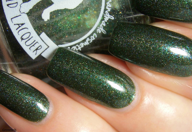 Aliquid Lacquer Yooper Swatch by greeench