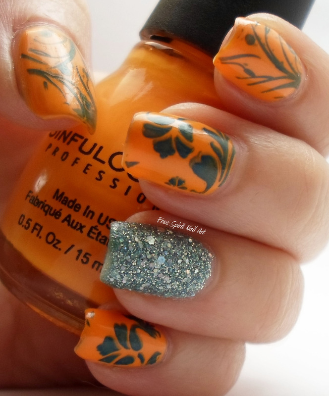 Fall Nail Art nail art by Free_Spirit_Nail_Art