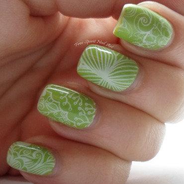 Stamping fun Dec 2014 nail art by Free_Spirit_Nail_Art