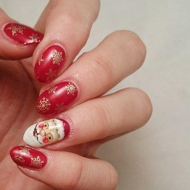 🎅 santa nail art by Charlotte