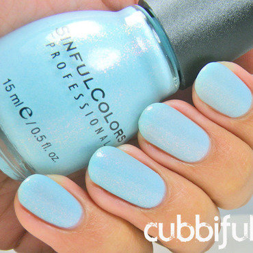 Sinful Colors Cinderella Swatch by Cubbiful