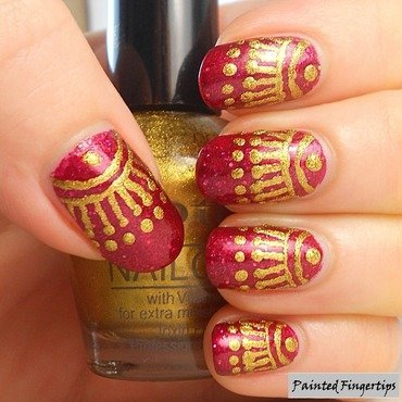 Decorations nail art by Kerry_Fingertips