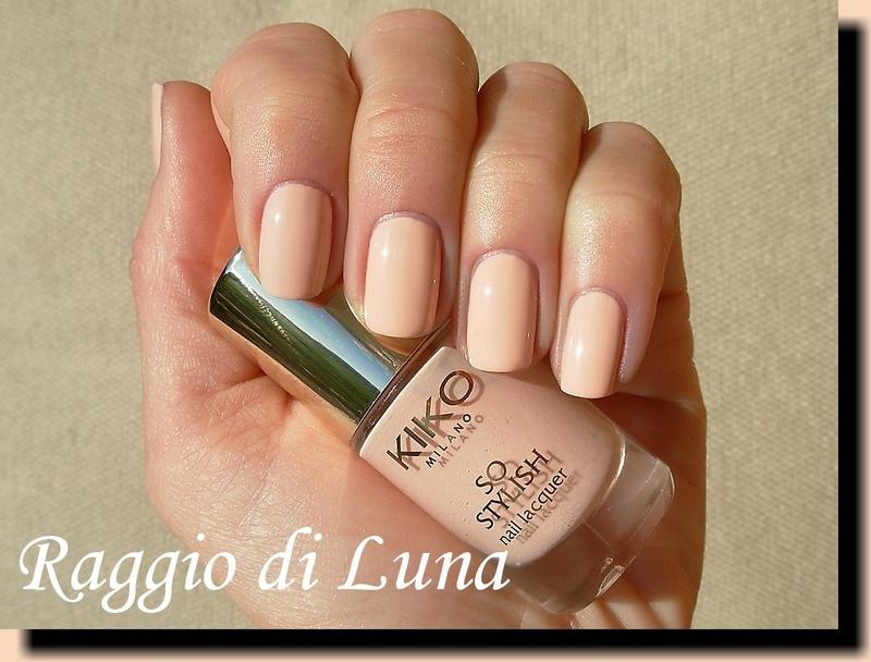 Kiko So Stylish Nail Lacquer n° 01 Blush Swatch by Tanja