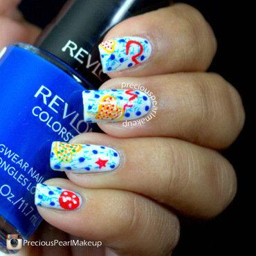 Cookies nail art by Pearl P.