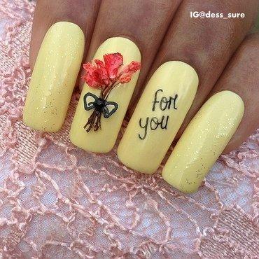 Bouquet  nail art by Dess_sure