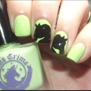 Lime Crime Pastelchio Swatch by Mycrazydesigns