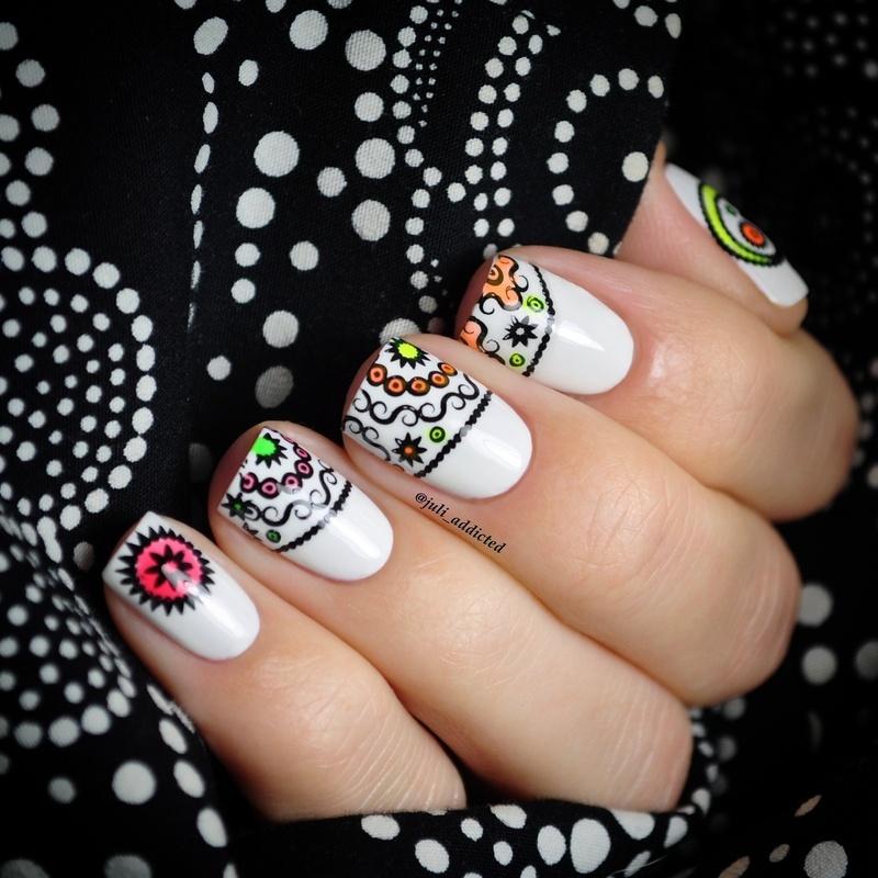 #47 nail art by Juli