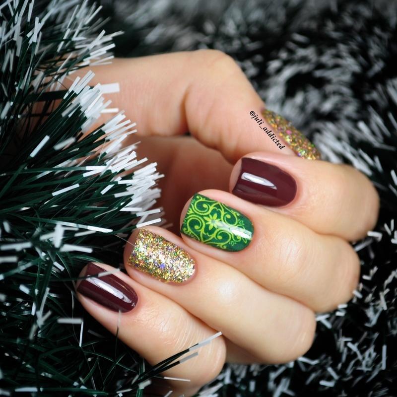 #48 nail art by Juli