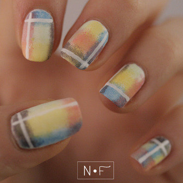 Blanket nails nail art by NerdyFleurty