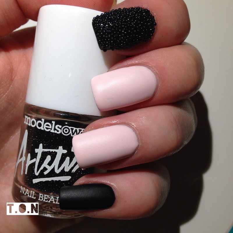 Modelsown Nail Beads Swatch by Tipped Off Nails