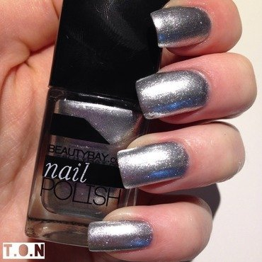 Beauty Bay Tinsel Sparkles on Michigan Street Swatch by Tipped Off Nails