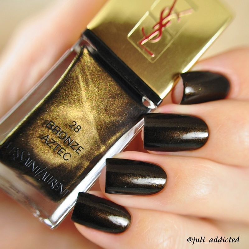 Nail Polish Colors Bronze: YSL Bronze Aztec Swatch By Juli