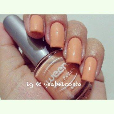 Weens Peach puff Swatch by Katrina Ysabel Costa
