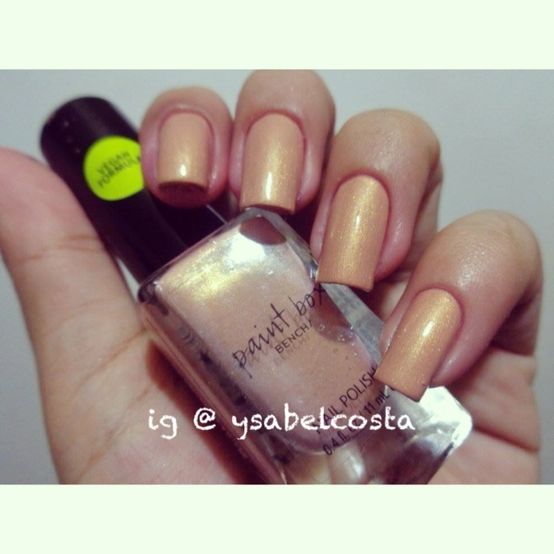 Bench paintbox Sun-kissed Swatch by Katrina Ysabel Costa