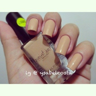 Bench paintbox Nude Swatch by Katrina Ysabel Costa