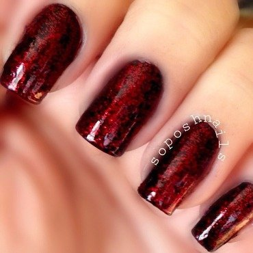 China Glaze Ruby Pumps Swatch by Debbie
