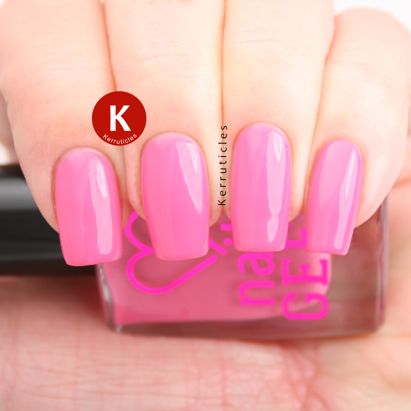Nail Geek Cheeky Pink Swatch by Claire Kerr