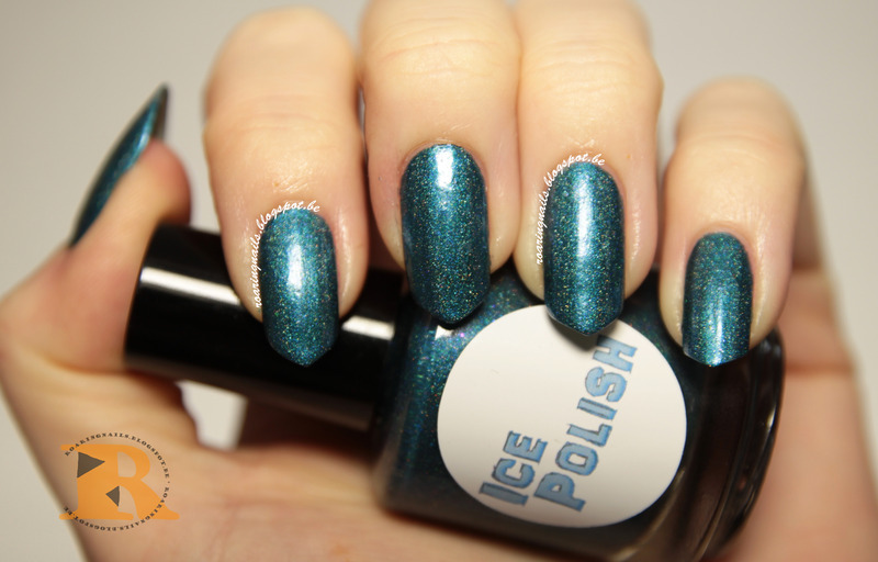 Ice Polish Peacock Be Trippin' Swatch by Robin