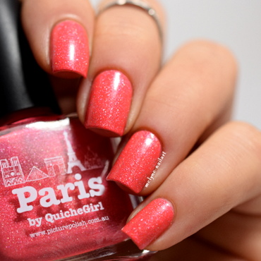 piCture pOlish Paris Swatch by melyne nailart