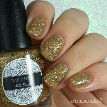 Daily Hues Nail Lacquer Noelle Swatch by Cristina Alvarado