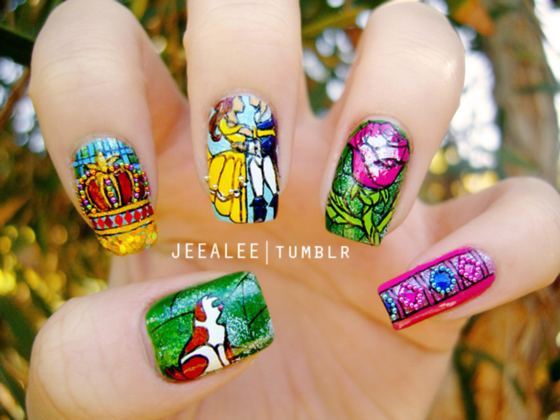 Beauty art the nail appearance recommend dress in autumn in 2019