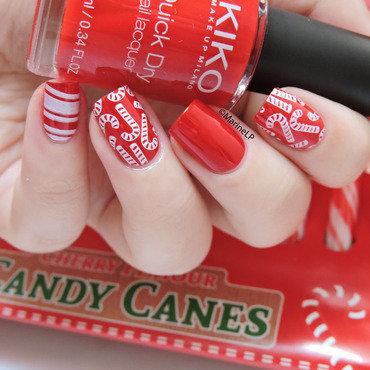 Candy cane nails 20 2  thumb370f