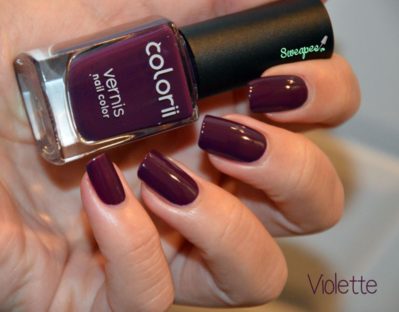 Colorii Violette Swatch by Sweapee