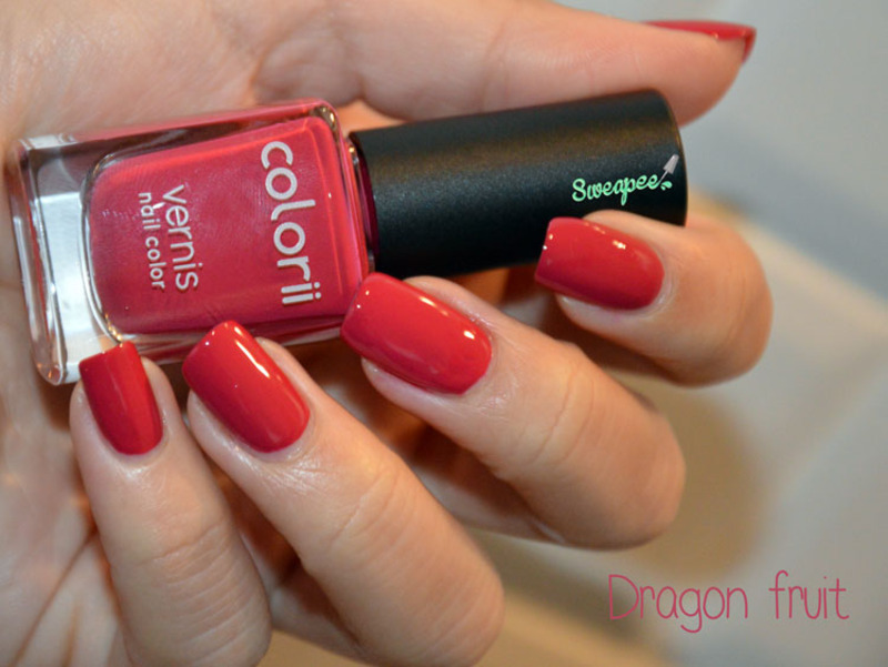 Colorii Dragon fruit Swatch by Sweapee