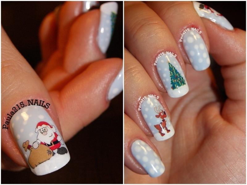 Merry Christmas! nail art by Paula215. NAILS
