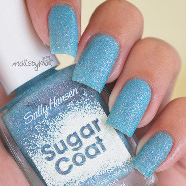 Sally Hansen Royal Icing Sugar Coat Swatch by xNailsByMiri