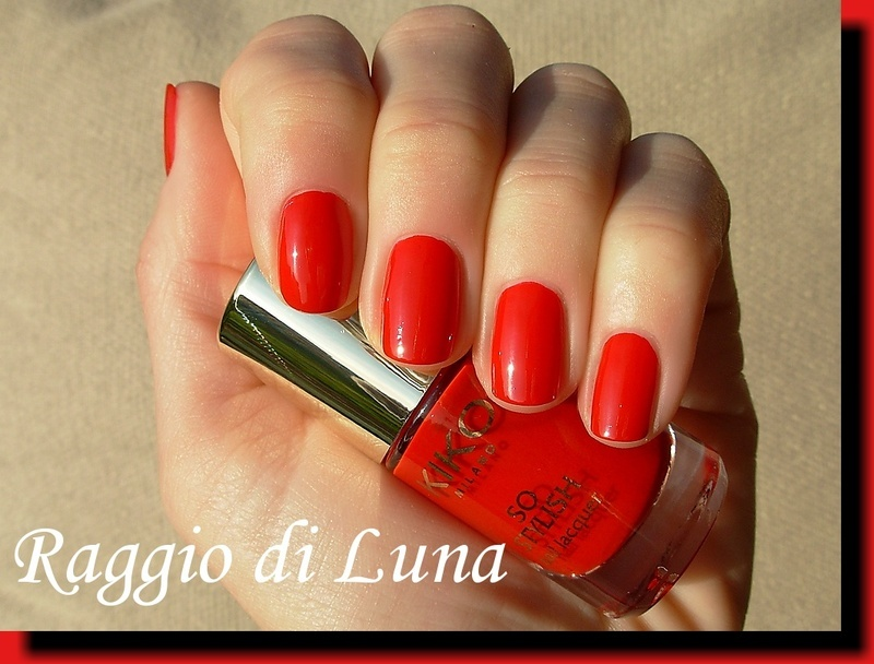 Kiko So Stylish Nail Lacquer n° 06 Apple Red Swatch by Tanja