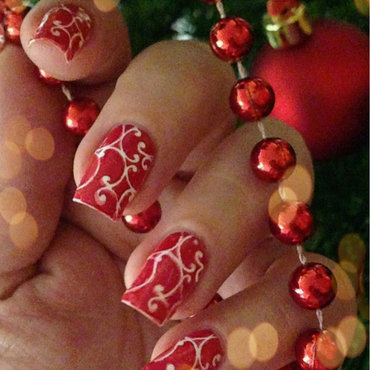 Merry Christmas! nail art by Natasha