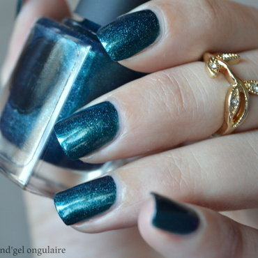 il etait un vernis In Teal We Trust Swatch by And'gel ongulaire