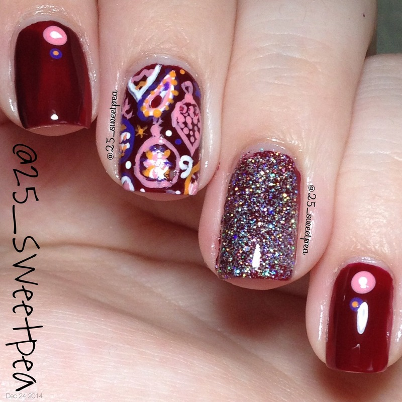 Ornaments nail art by 25_sweetpea