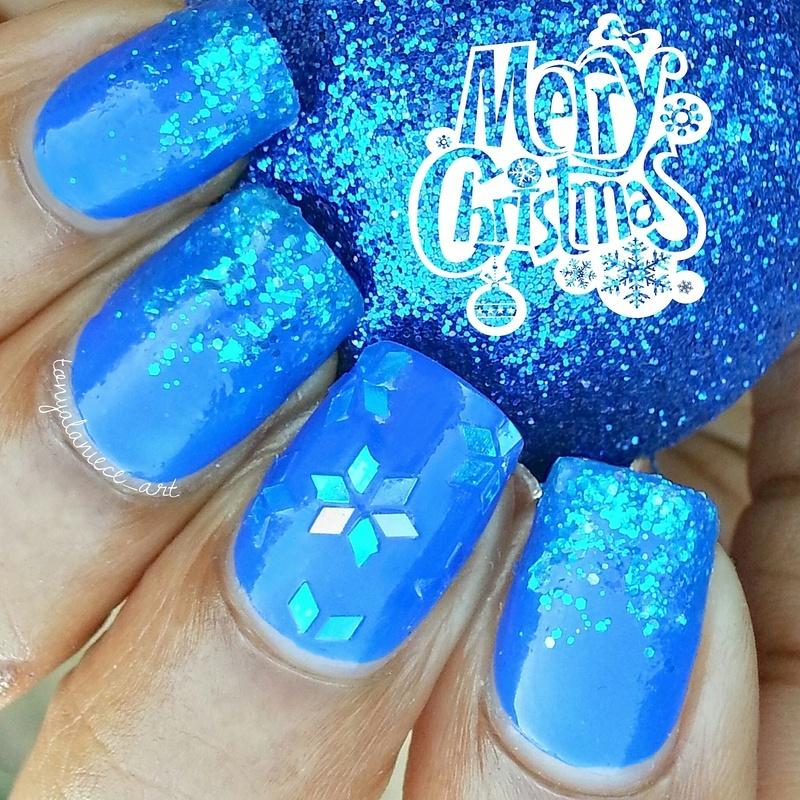 Merry Chtistmas 🎄🎅🎁 nail art by Tonya