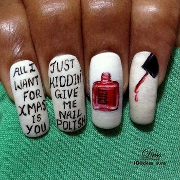 Polish <3 nail art by Dess_sure