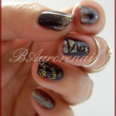 sapin nail art by BAurorenail