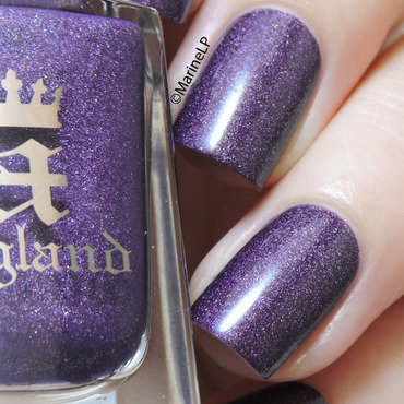 A England Lady of the Lake Swatch by Marine Loves Polish