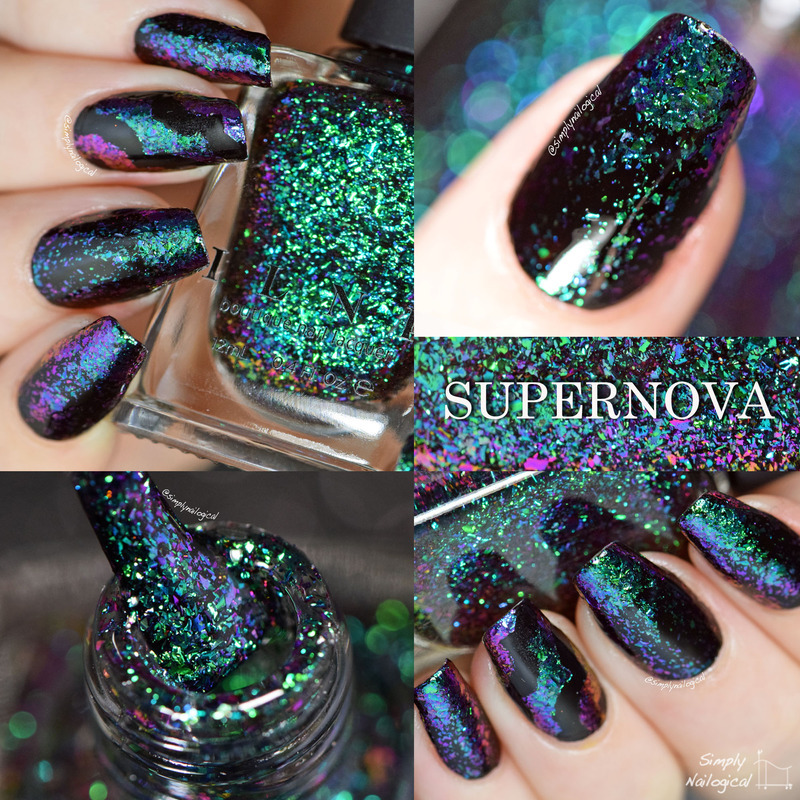 ILNP Supernova Swatch by simplynailogical