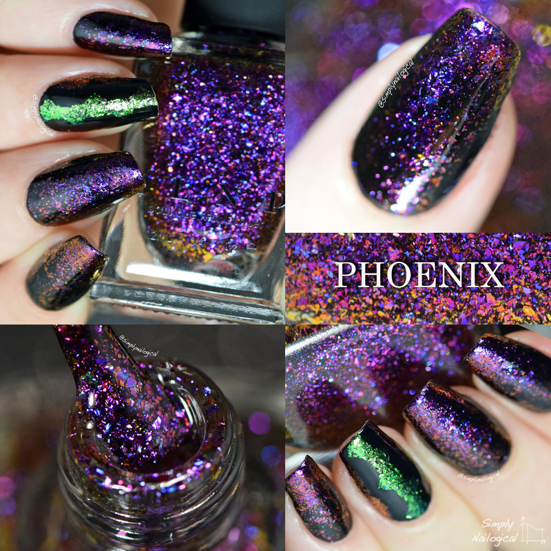 ILNP Phoenix Swatch by simplynailogical