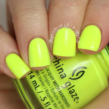 China glaze yellow polka dot bikini thumb370f