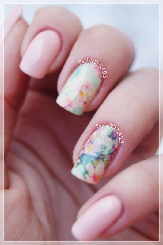 Romantic nails. nail art by Paula215. NAILS