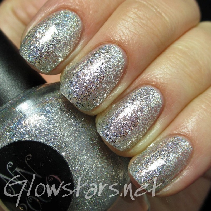Nail Nation 3000 Silver Hologasm Swatch by Vic 'Glowstars' Pires