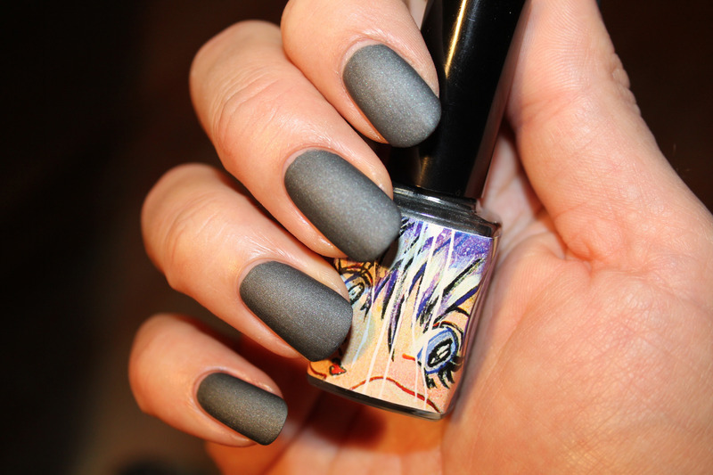 ManGlaze Fuggen Ugly Swatch by Frank - Nailpolis: Museum of Nail Art
