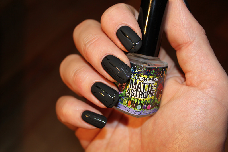ManGlaze Matte Astrophe Swatch by Frank - Nailpolis: Museum of Nail Art