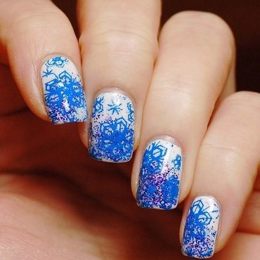 Winter time :) nail art by Yasinisi