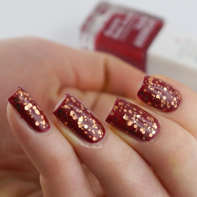 My NYE Nails nail art by Ann-Kristin