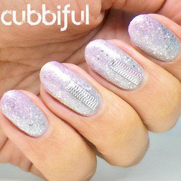 Sand glitter gradient nails thumb370f