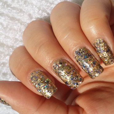 Deborah Lippmann Glitter and Be Gay Swatch by Esmalte_de_hoje
